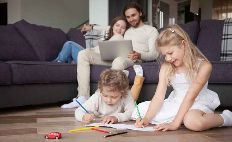Wat is de ideale stooktemperatuur als je alleen vloerverwarming gebruikt?