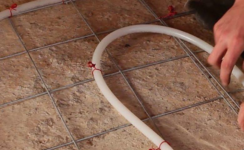Wat is de inbouwhoogte van vloerverwarming?