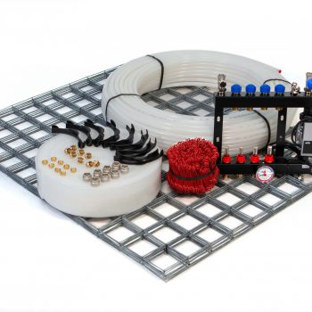 vloerverwarming set draadstaal systeem