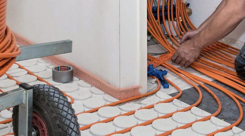 Hoe diep moet vloerverwarming liggen?